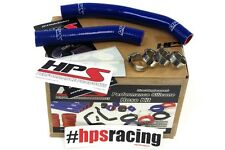 HPS Blue Silicone Radiator Hose Kit Coolant OEM Replacement 57-1361-BLUE LTR450
