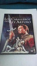 """DVD """"LOS CABALLEROS DEL REY ARTURO"""" PRECINTADA ROBERT TAYLOR AVA GARDNER"""