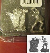 Judge Dredd JD125 Sabbat and Kenny Who? (2) 28mm Miniatures Villains Mercenaries