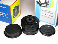 Helios-44m-7 2/58mm lens with Canon EOS mount.year of production: 1990 - 1992