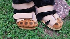 """Gorilla Monkey Feet in Sandals Costume Shoes Slippers 10"""" Long Costume"""