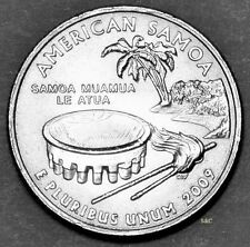 2009 - D, American Samoa - Uncirculated from Bank Wrapped Rolls