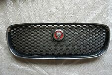 Genuine Jaguar XF XFS  Front Chrome & Black Grille With Red Badge 2016 -Onwards
