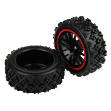 12mm hex Rubber Tyre & Wheels 1:10 on road 1:16 off road Pull Rally Car