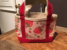 vintage strawberry shortcake Canvas Boat and Tote Collectible Toy