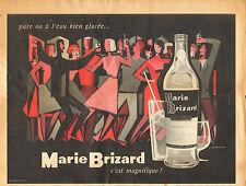 Publicité Advertising  Marie Brizard