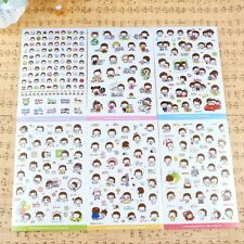 6Pcs Album Scrapbooking Stickers Korean Girl Momoi Diary Planner Stickers US