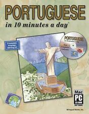 PORTUGUESE in 10 minutes a day® with CD-ROM Kershul, Kristine K. Paperback