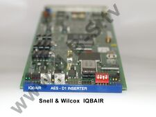 Snell & Wilcox IQBAIR - AES-D1 Inserter (Embedder)