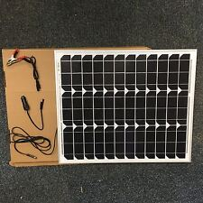 40 W MONOCRYSTALLINE  SOLAR PANEL 40 WATTS  BATTERY CHARGER  12V PV-with DIODE