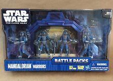Mandalorian Warriors Star Wars The Clone Wars Battle Packs MIB