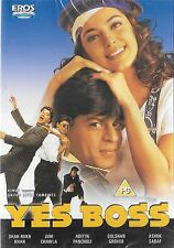 YES BOSS - SHAHRUKH KHAN - JUHI CHAWLA - NEW BOLLYWOOD DVD - FREE UK POST