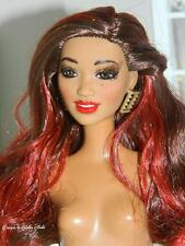 Gorgeous Fashionista AA BARBIE~Enhanced~Applied Lashes~NUDE