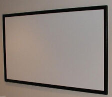 """16:9 PROTHEATER 93"""" 1080P 4K RAW PROJECTOR SCREEN PROJECTION SCREEN MATERIAL USA"""