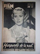 LE FILM COMPLET N°546 1956 MARGUERITE DE LA NUIT / MICHELE MORGAN - YVES MONTAND