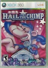 Hail to the Chimp  (Xbox 360, 2008) Factory Sealed
