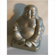 LATEX MOULD/MOULDS/MOLD. LARGE 8 INCH  BUDDHA WITH SACK AND ORB