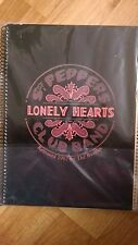 The Beatles Sgt Pepper Lonely Hearts Notebook
