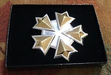 Official Star Trek Insignia Collection UFP Flag Insignia In Box Rare Find