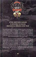 2014 Stone Bros. Garage Porsche info card