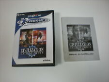 Cd juego Civilization Call to Power, en castellano