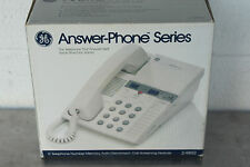 VINTAGE GENERAL ELECTRIC GE 2-9892 ANSWER-PHONE PHONE NOS