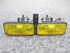 JDM HONDA CIVIC 88-91 (EF8,EF9,CRX) HALOGEN YELLOW FOG LIGHTS & SWITCH OEM