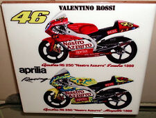 Valentino Rossi's  Aprilia RS 250 ~Mugello and Imola 1999~ Ceramic Tile