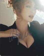 Christina Hendricks:    8x10 beautiful hand signed photo.