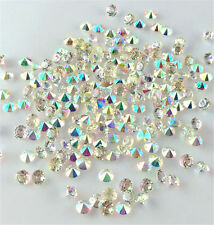 1000  Clear Acrylic Diamond Confetti 4mmAB For Wedding Decoration Table Scatters