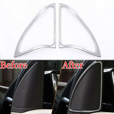 2x Front Triangle Door Stereo Speaker Audio Sound Cover Trim Frame For A180 A200