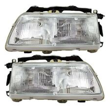 1990 1991 HONDA CIVIC SEDAN/HATCHBACK HEADLIGHT LAMP PAIR LEFT & RIGHT SET