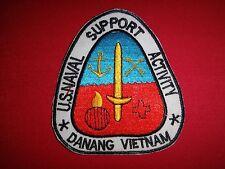 Vietnam War Patch US Naval Support Activity At DA NANG VIETNAM