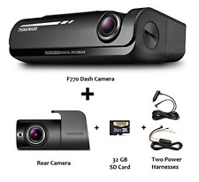 Thinkware F770 KIT 1080p HD Dash Cam 32GB Night Vision WiFi GPS +Rear +Hardwire