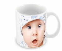 PERSONALISED Custom designed Mug, any text or image Great Gift and free postage!