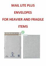 400 LL Royal Mail Large Letter Size White 250x350mm Mail Lite Plus Envelopes HQ