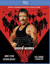 Delta Force 2 Blu-ray Disc 2015 Chuck Norris John Ryan Jaeckel Billy Draco NEW