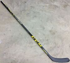CCM Ultra Tacks Pro Stock Hockey Stick Grip 95 Flex Left H19 with Toe Kick 6770