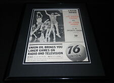 Elgin Baylor Framed 11x14 ORIGINAL 1964 Laker News Program Cover vs St Louis