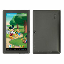 """C7"""" Quad Core 8GB Android4.4 Allwinner A33 Tablet PC MID for Kids Children Black"""