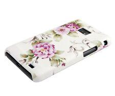 Schutzhülle f Samsung Galaxy S2 / S2+ Tasche Case Cover Flower Blumen Rosen
