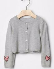 BABY GAP + PEANUTS BOW-SLEEVE CARDIGAN NWT 12-18Month M350