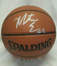 Monta Ellis Golden State Warriors Autographed Basketball Spalding. EMPIRE Cert