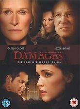 DAMAGES COMPLETE SERIES 2 DVD Season Box Set + BONUS FEATURES New UK 2nd Second