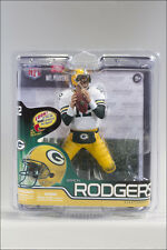 McFarlane NFL Series 30 Aaron Rodgers Green Bay Packers White Jersey
