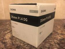 Sigma 35mm F1.4 DG HSM 'A' Art Lens in Nikon AF Fit BNIB