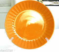 EUC ROMA COLLECTION BY ELEGANT DINING ORANGE DINNER PLATE