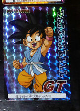 DRAGON BALL Z GT DBZ AMADA PP PART 30 CARDDASS CARD PRISM CARTE 44 HARD JAPAN NM