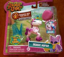 National Geographic Animal Jam Magic Horse and Light Up Ring New