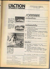 L'ACTION AUTOMOBILE N°164 1974 gs birotor vw scirocco